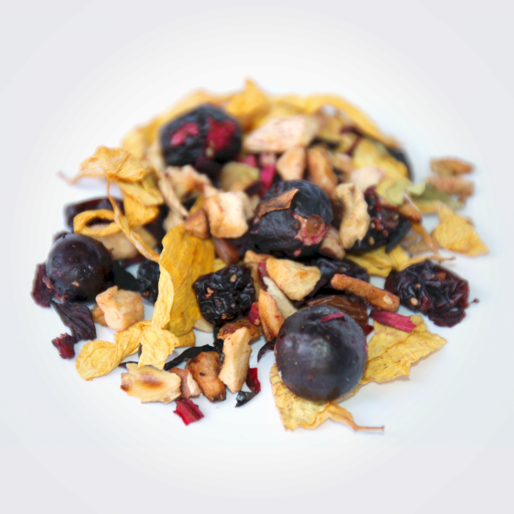 Ceai fructe si coacaze negre vrac