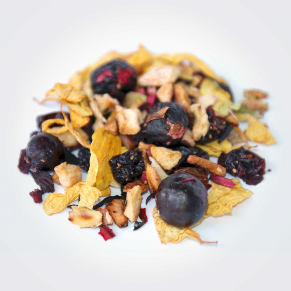 Ceai fructe si afine vrac